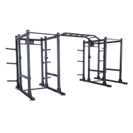 Power rack double extended