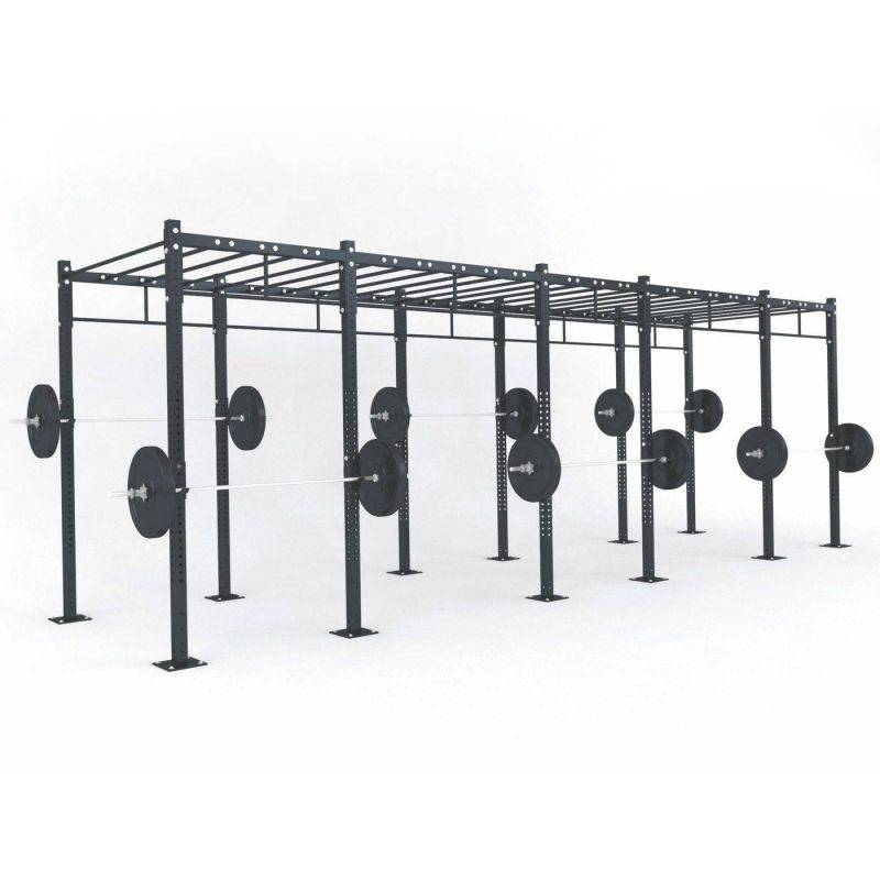 STRUCTURE CROSS TRAINING 690 x 180 x 275 cm, Cross training centrales