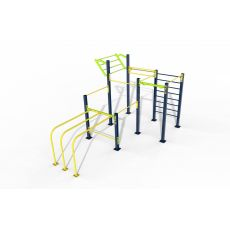 Triple Rack Parc 60 m², Street Workout