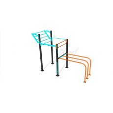 Single rack DDWM parc 35 m², Street Workout
