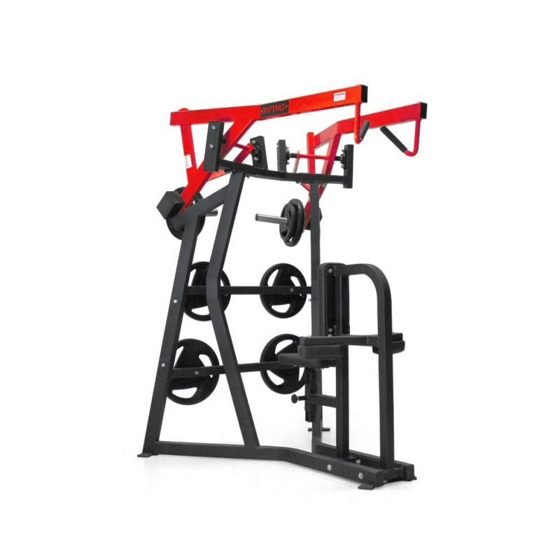 Isolateral high row Pro, Plate load