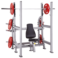 Military rack, Squat et powerlift