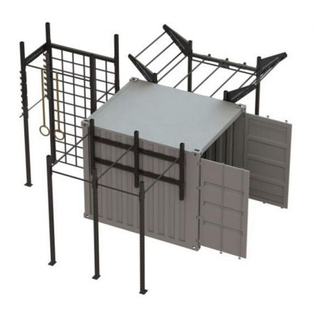 Container Cross Training Performance - 10 Pieds Container Stations  BSA PRO