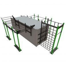Container Cross Training Performance - 20 Pieds Container Stations  BSA PRO
