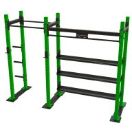 Squat rack standard avec plaque Squat et powerlift