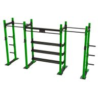 Squat rack double avec plaque Squat et powerlift
