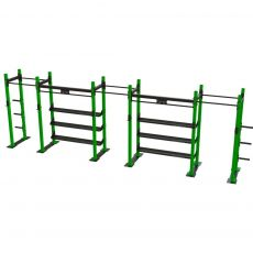 Squat rack triple avec plaque Squat et powerlift  BSA PRO