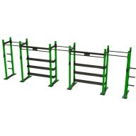 Squat rack triple avec plaque Squat et powerlift