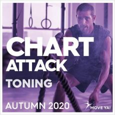 CHART ATTACK Toning Autumn 2020 CD Aérobic  BSA PRO