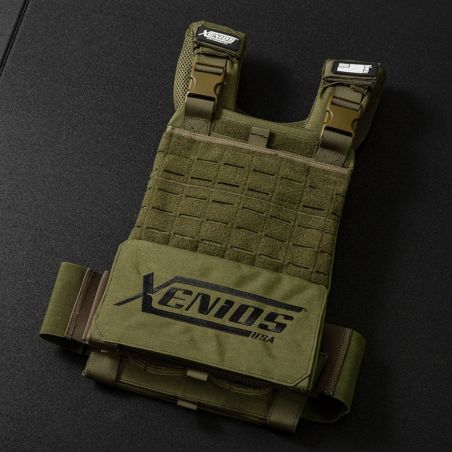 Tactical Vest Army 9 kg Xenios USA Materiel Cross Training Xenios USA  BSA PRO
