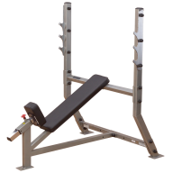 Banc olympique incliné, Bancs Musculation
