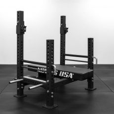 Power Bench Press Xenios USA Box Equipement Xenios USA  BSA PRO