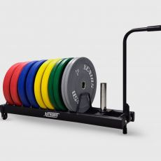 Rack Bumper Plates Trolley Xenios USA Storages Xenios USA  BSA PRO