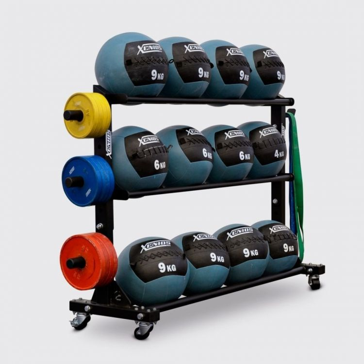 Storage Rack pour Wall Balls Xenios USA Storages Xenios USA  BSA PRO