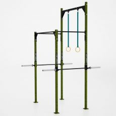 Rack Stand Squat V6 Xenios USA Squat Rack Xenios USA  BSA PRO