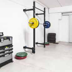 Garage Gym Rack Compact Xenios USA Squat Rack Xenios USA  BSA PRO