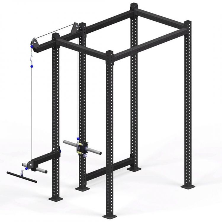 Rack Poulie rowing Magnum Xenios USA Squat Rack Xenios USA  BSA PRO