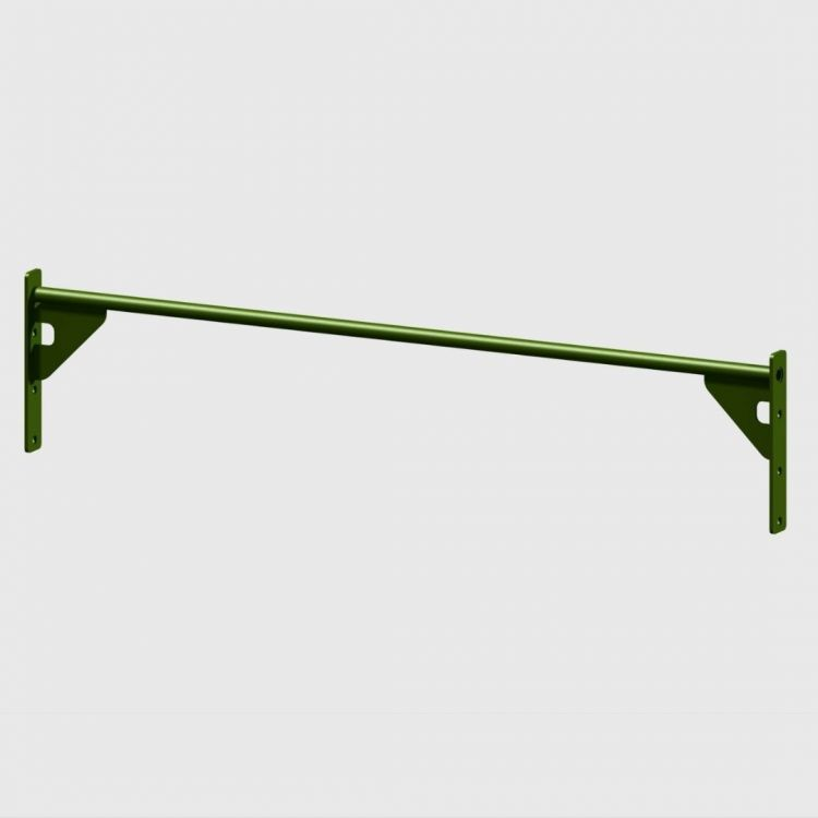 Barre Muscle Up 168 cm Extra Grip verte Elements Stations Cross training Xenios USA  BSA PRO