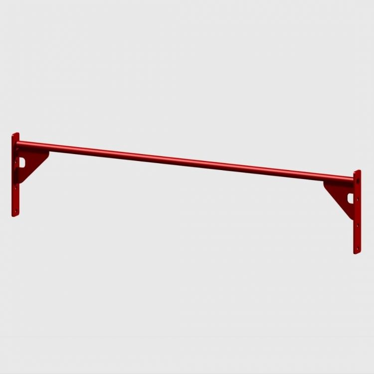 Barre Muscle Up 168 cm Extra Grip rouge Elements Stations Cross training Xenios USA  BSA PRO