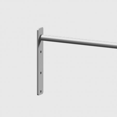 Barre Muscle Up 104 cm Extra Grip grise Elements Stations Cross training Xenios USA  BSA PRO