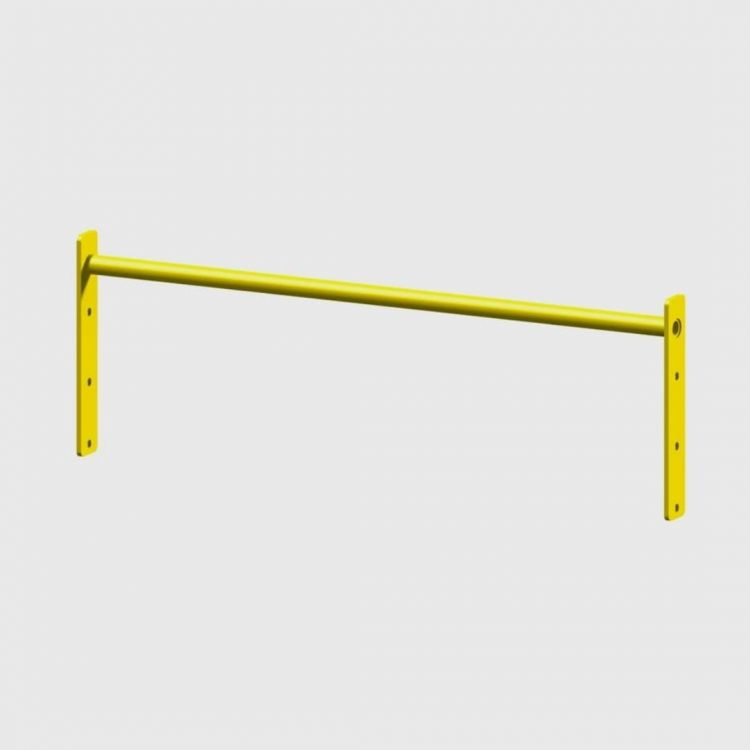 Barre Muscle Up 104 cm Extra jaune Elements Stations Cross training Xenios USA  BSA PRO
