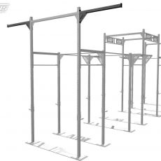 Offset Gymg Rings Station Xenios USA Elements Stations Cross training Xenios USA  BSA PRO