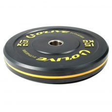 Bumper olympique 15 kg noir Disques cross training  BSA PRO