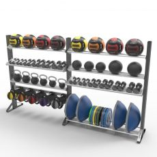 Rack fonctionnel double personnalisable two Racks Functional Training  BSA PRO