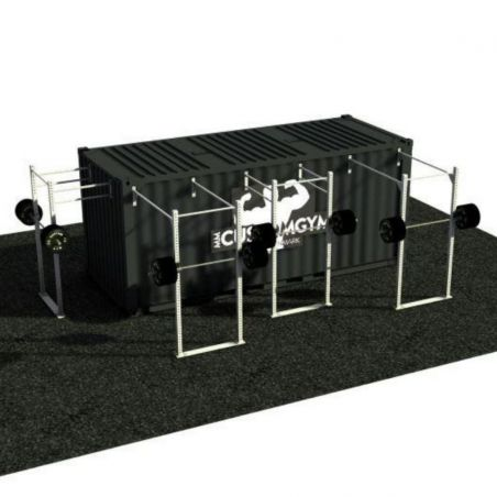 Container Cross Training Squat Rack - 20 Pieds Container Stations  BSA PRO