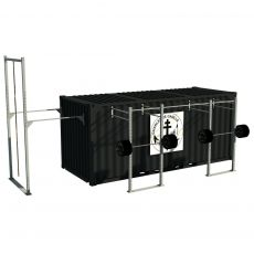 Container Cross Training Army - 20 Pieds Container Stations  BSA PRO