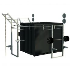Container Cross Training Tactical one - 10 Pieds Container Stations  BSA PRO