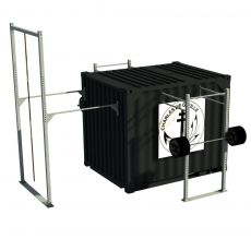 Container Cross Training Tactical two - 10 Pieds Container Stations  BSA PRO