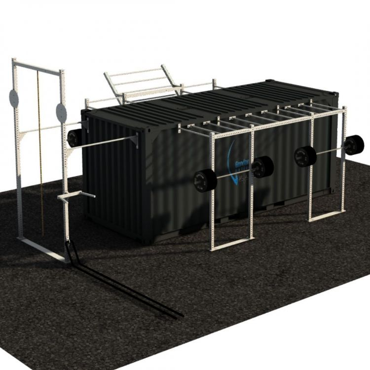 Container Outdoor Concept - 20 Pieds Container Stations  BSA PRO