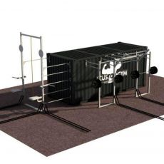 Container Outdoor - 20 Pieds Container Stations  BSA PRO