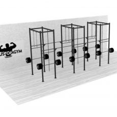 Structure Cross Training Tower CUSTOM GYM T03 BSA cages Cross Training  BSA PRO