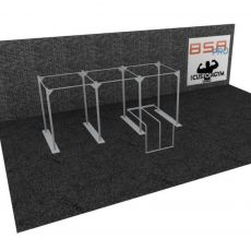 Cage Cross Training Dip Station CUSTOM GYM DS02 BSA cages Cross Training  BSA PRO