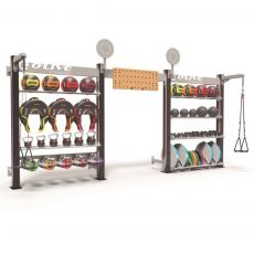 Wall Storage Functional ONE + 564 cm Cages functional training  BSA PRO