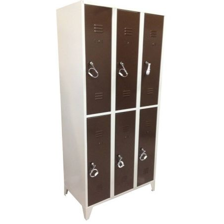 Armoire 6 casiers 300 mm