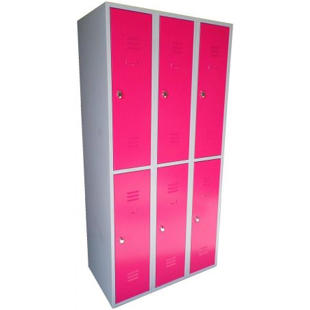 Armoire 6 casiers 400 mm