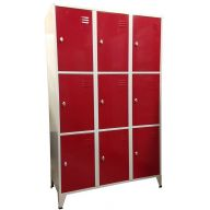 Armoire 9 casiers 400 mm