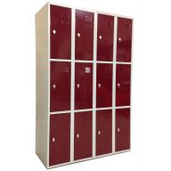 Armoire 12 casiers 300 mm