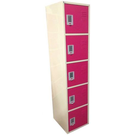 Armoire 5 casiers 400 mm