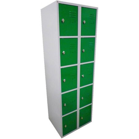 Armoire 10 casiers 400 mm