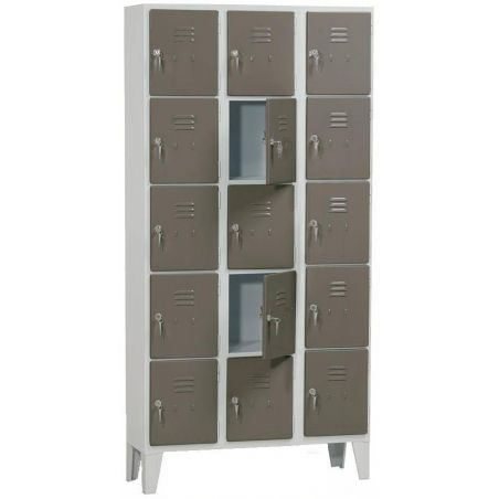 Armoire 15 casiers 300 mm