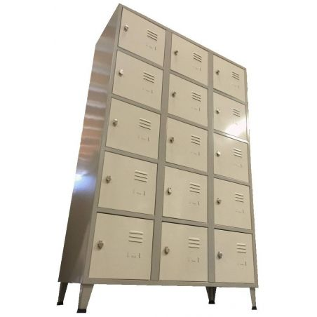 Armoire 15 casiers 400 mm