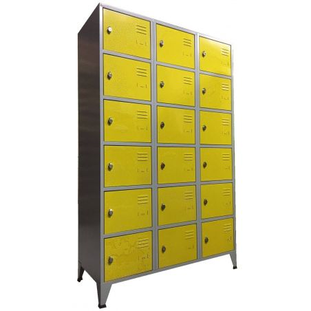Armoire 18 casiers 400 mm
