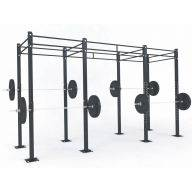 STRUCTURE CROSS TRAINING 4.05 x 1.20 x 2.75 m, Cages Cross training centrales