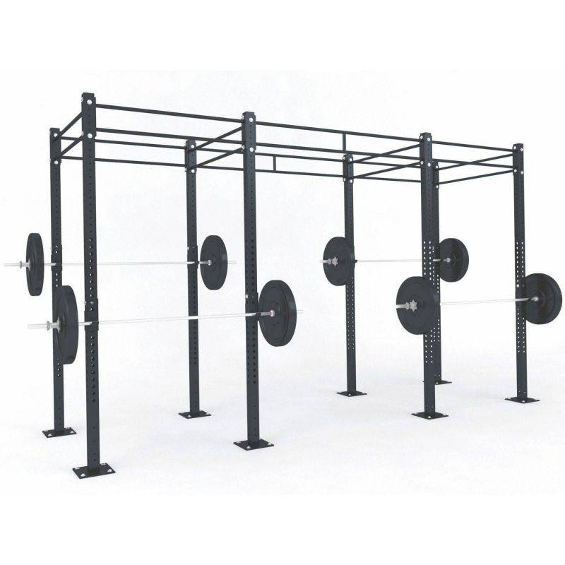STRUCTURE CROSS TRAINING 4.05 x 1.80 x 2.75 m, Cages Cross training centrales