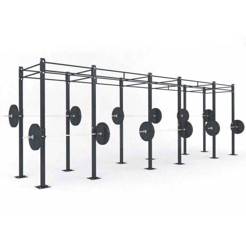 STRUCTURE CROSS TRAINING 6.90 x 1.80 x 2.75 m Cages Cross training centrales