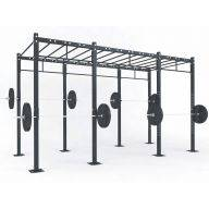 STRUCTURE CROSS TRAINING 405 x 180 x 275 cm Cross training centrales